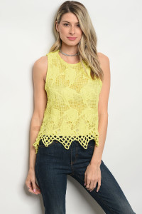 112-4-2-T1015 YELLOW TOP 2-2-2