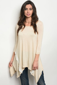 C71-A-3-T6467 TAUPE TOP 2-2-2