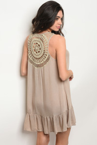 S10-18-4-T40559 TAUPE DRESS 2-2-2