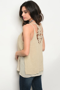 S10-11-3-T10639 TAUPE TOP 2-2-2