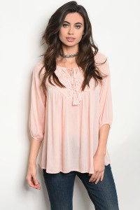 S10-10-2-T10506 BLUSH TOP 2-2-2