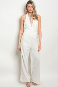 S4-1-4-J8535 WHITE JUMPSUIT 2-2-2