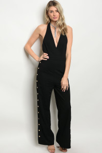 128-2-3-J8535 BLACK JUMPSUIT 1-4