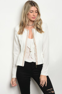 S4-1-4-J504202 WHITE WITH PEARLS JACKET 2-2-2