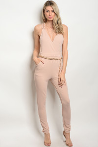 135-3-4-J50214 TAN JUMPSUIT 2-4