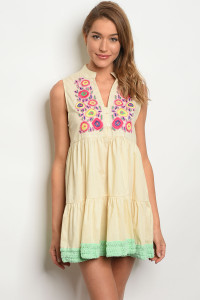 107-4-4-DIE111 NATURAL MINT DRESS 2-2-2-2