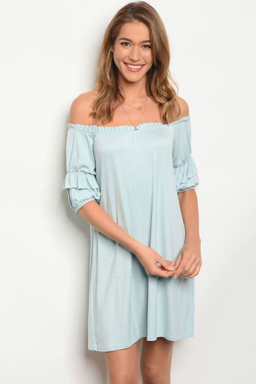 C19-A-3-D3650HRL LIGHT BLUE DRESS 2-2-2