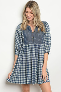 SA4-5-1-D3279 DARK DENIM DRESS 2-2-2