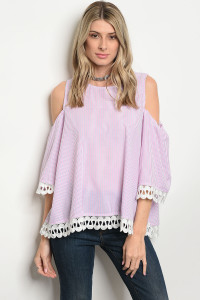 134-2-1-T2054 PINK STRIPES TOP 2-2