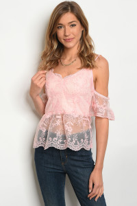 132-3-2-T03106 PINK TOP 1-1-2