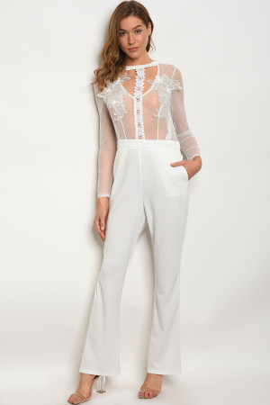 S5-2-1-J09718 WHITE JUMPSUIT 2-2-2