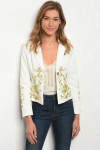 S13-10-1-J09339 OFF WHITE BLAZER 2-2-2