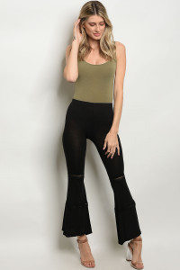 C16-A-6-PL038 BLACK PANTS 2-2-2