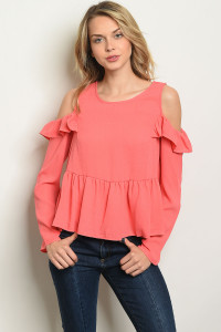 C42-B-3-T8097 CORAL TOP 2-2-2