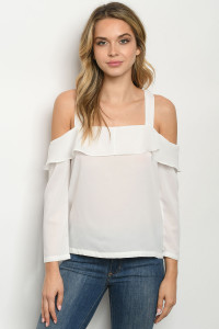 SA4-4-5-T1231182 OFF WHITE TOP 2-2-2