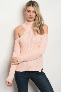S9-19-3-S1007 PEACH SWEATER 3-3