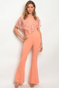 129-2-3-J99093 PEACH JUMPSUIT 2-2-2