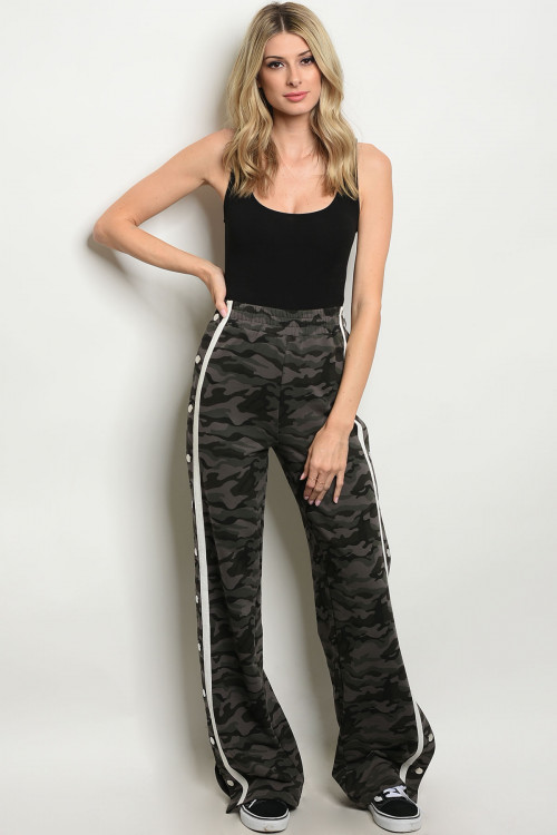 105-5-2-P21610 GRAY CAMOUFLAGE PANTS 2-2-2