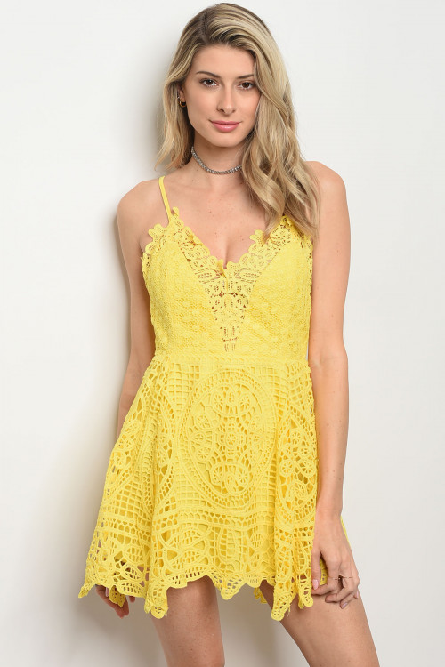 S17-5-2-D9306 YELLOW DRESS 2-2-2