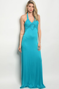 S4-8-1-D15709 TURQUOISE DRESS 2-2-2