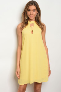 133-1-3-D1324 YELLOW DRESS 2-2-2