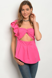 S12-1-5-T21085 FUCHSIA TOP 2-2-2