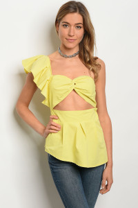 135-1-2-T21085 YELLOW TOP 1-1-1