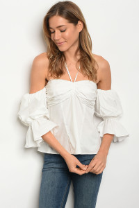 124-2-3-T21134 OFF WHITE TOP 2-2-2