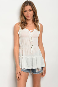 135-1-2-T10379 OFF WHITE TOP 2-2