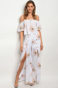 124-1-5-SET7198 IVORY FLORAL TOP & PANTS SET 3-2