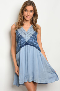 S4-3-1-D5232 BLUE NAVY DRESS 2-2-2