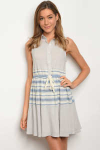 S13-4-2-D5230 GREY BLUE DRESS 2-2-2