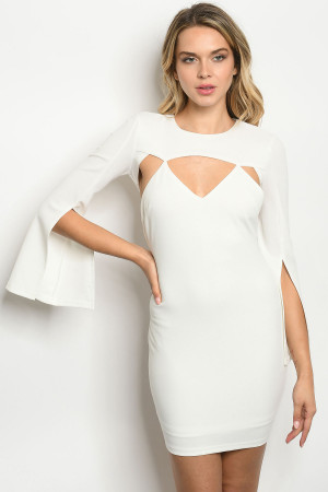 133-2-2-D30345 OFF WHITE DRESS 2-2-2