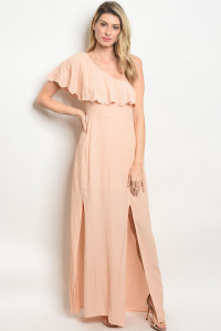 127-3-3-NA-D0135 BLUSH DRESS / 2PCS