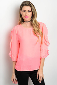 S6-1-3-T6705 HOT PINK TOP 3-2