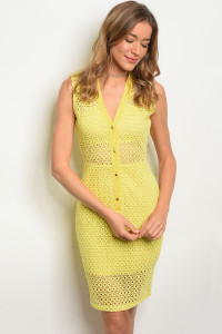 114-3-4-D17951 YELLOW DRESS 2-2-2