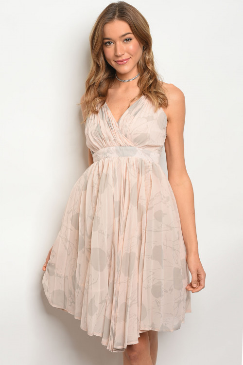 114-4-2-D1062 BLUSH GRAY DRESS 1-4-3