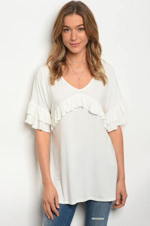 126-1-1-T1212 OFF WHITE TOP 2-2-2