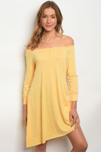 S8-14-4-D1219 YELLOW DRESS 2-2-2