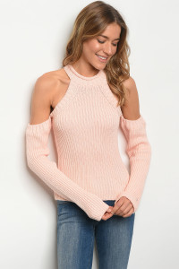 S2-6-2-S1001 PEACH SWEATER 3-2-1