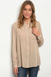 S11-2-2-T2251 TAUPE TOP 2-2-2