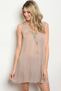 113-1-1-D1808 TAUPE DRESS 2-2-2