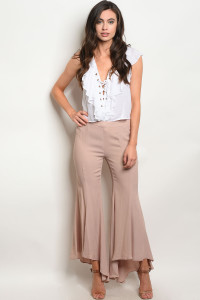 S24-4-2-P12487 TAUPE PANTS 3-2-1