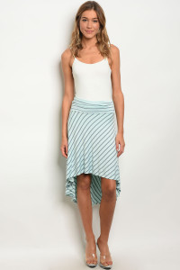 C5-B-4-S3005S MINT GRAY SKIRT 2-2-2