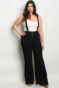C22-A-2-P3836X BLACK PLUS SIZE PANTS 2-2-2