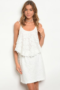 123-2-2-SET32476 WHITE TOP & SKIRT SET 2-2-2