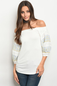 111-6-3-T32049 IVORY TOP 2-2-2