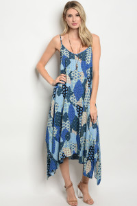 123-1-4-D5514 BLUE MULTI DRESS 3-3