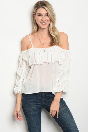 113-3-1-T3029 OFF WHITE TOP 3-2-1
