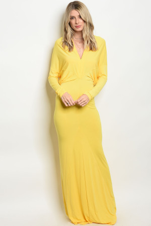 C48-A-2-D0051 YELLOW DRESS 2-2-2
